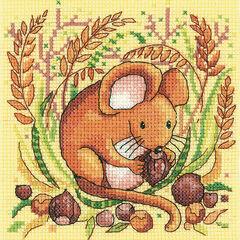 Mouse Cross Stitch Kit