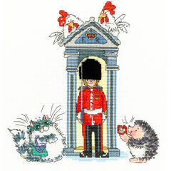 London On Parade Cross Stitch Kit