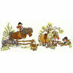 Thelwell - Crash Landing Cross Stitch Kit