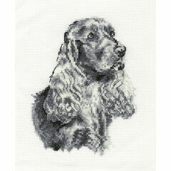 Cocker Spaniel Cross Stitch Kit