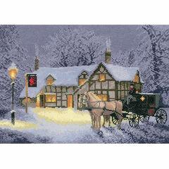 Christmas Inn Cross Stitch Kit