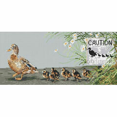 Ducks Day Out Cross Stitch Kit