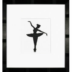 Ballet Silhouette 1 Cross Stitch Kit