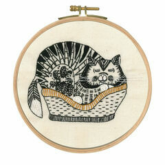 Sebastian Sleeping Embroidery Kit