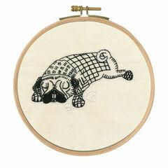 Doug Dozing Embroidery Kit