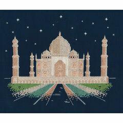 Agra By Night Glow In The Dark Cross Stitch Kit