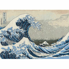 The Great Wave Cross Stitch Kit