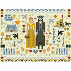 Cornish Folkies Cross Stitch Kit
