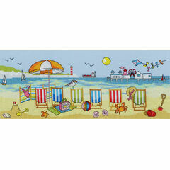 Deckchair Fun Cross Stitch Kit
