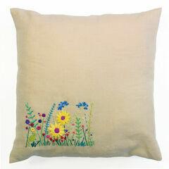 Secret Garden Embroidery Cushion Kit