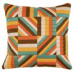 Lines Long Stitch Cushion Panel Kit