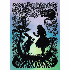 Alice In Wonderland (P) Cross Stitch Kit