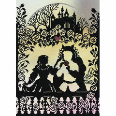 Beauty And The Beast (P) Cross Stitch Kit