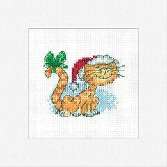 Christmas Tigger Cross Stitch Card Kit