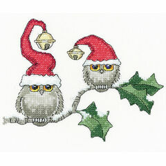 Ollie & Ivy Cross Stitch Kit