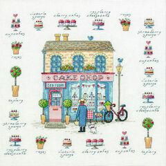 Cake Shop Cross Stitch Kit