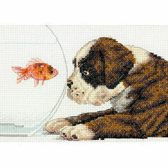 Dog Bowl Cross Stitch Kit