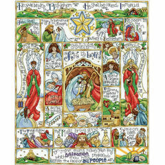 Nativity Story Cross Stitch Kit