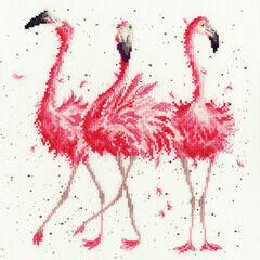 Pink Ladies Cross Stitch Kit