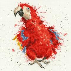 Parrot On Parade Cross Stitch Kit