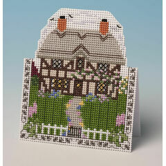 Cottage Card 3D Cross Stitch Kit