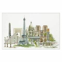 Thea Gouverneur Paris Cross Stitch Kit