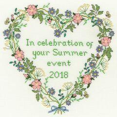 Summer Celebration Cross Stitch Kit