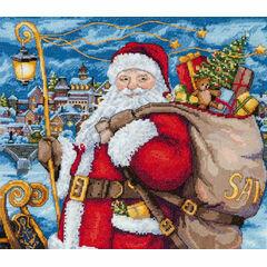Santa Is Coming! Cross Stitch Kit