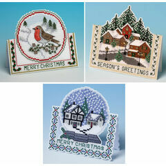 3D Bestsellers Cross Stitch Christmas Card Kits