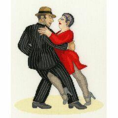 It Takes Two To Tango (Beryl Cook) Cross Stitch Kit