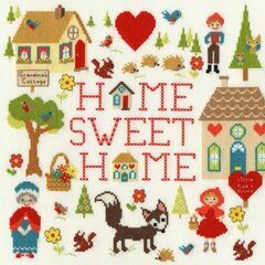 Home Is Where The Heart Is Cross Stitch Kit by Michelle Grace