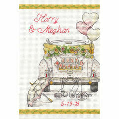 Wedding Day Car Cross Stitch Kit