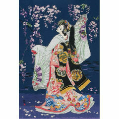 Sagi No Mai Cross Stitch Kit