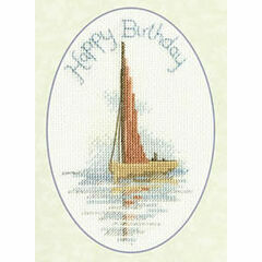 Sailing Cross Stitch Greeting Card Kit