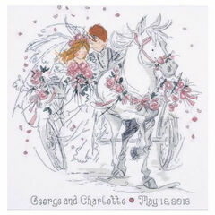 Wedding Carriage Cross Stitch Kit