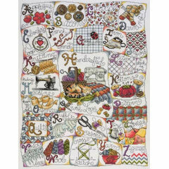 Stitching ABC Cross Stitch Kit