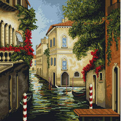 Venice in Colours Cross Stitch Kit