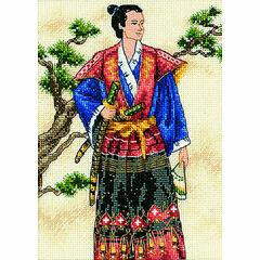 The Samurai Cross Stitch Kit