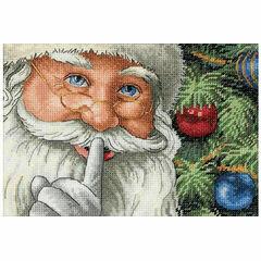 Santa's Secret Cross Stitch Kit