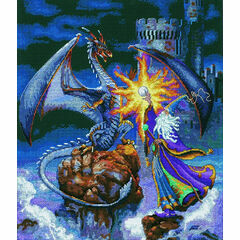 Magnificent Wizard Cross Stitch Kit