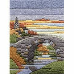 Autumn Evening Long Stitch Kit