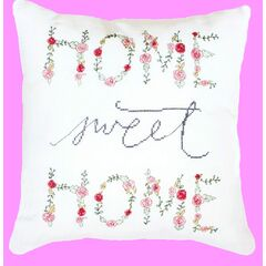 Home Sweet Home Cross Stitch Cushion Kit