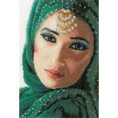 Eastern Beauty Cross Stitch Kit (Aida)