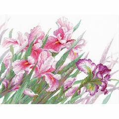 Irises Cross Stitch Kit