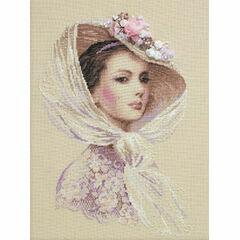 Lilac Evening Cross Stitch Kit