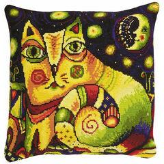 Moon Road Cushion Panel Cross Stitch Kit