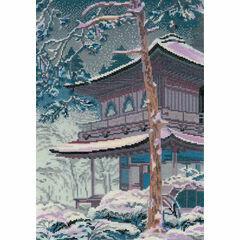The Pagoda Cross Stitch Kit