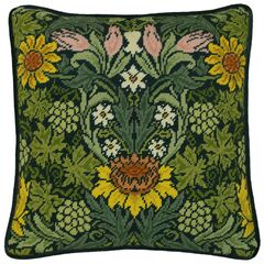 William Morris Sunflowers Tapestry Panel Kit