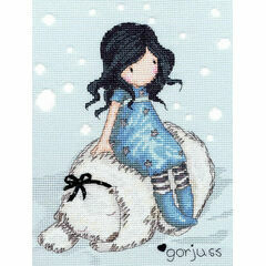 Gorjuss Winter Friend Cross Stitch Kit