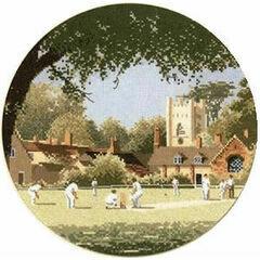 Sunday Cricket Cross Stitch Chart